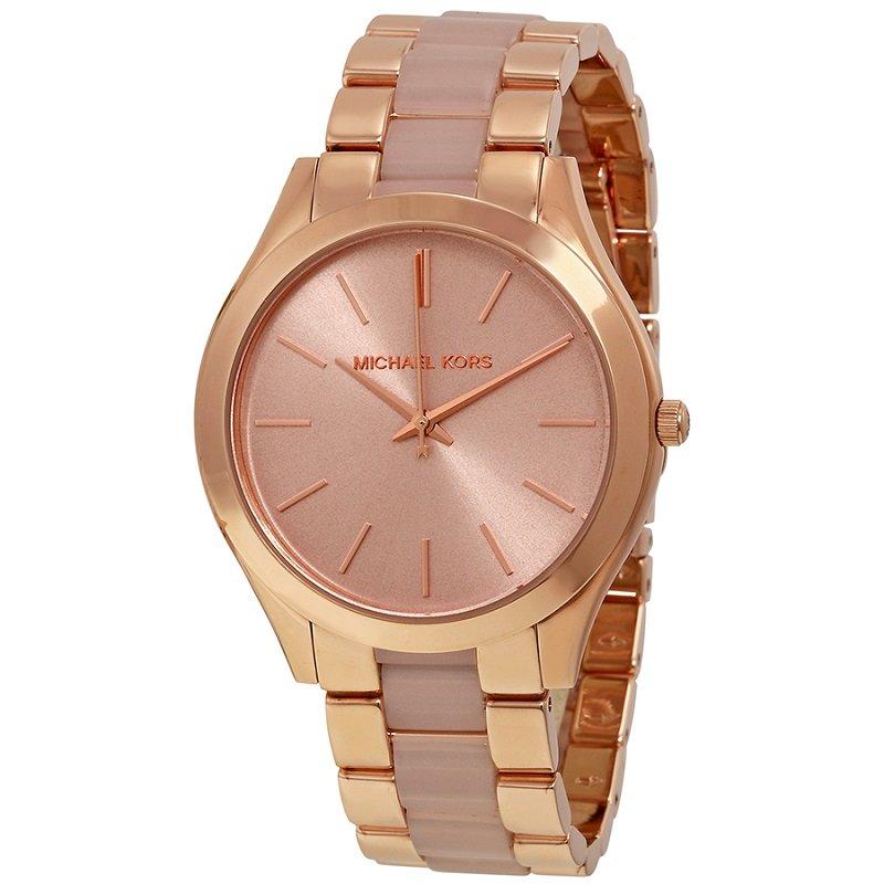 444ad9996985 ... Michael Kors Rose Gold-Plated Stainless Steel Slim Runway MK4294  Women s Wristwatch 42MM. nextprev. prevnext