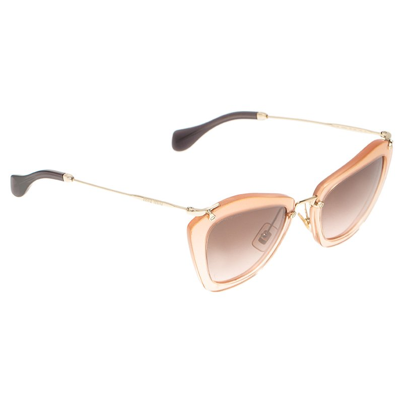 422c968925c Buy Miu Miu Pink Noir SMU10N Sunglasses 50957 at best price