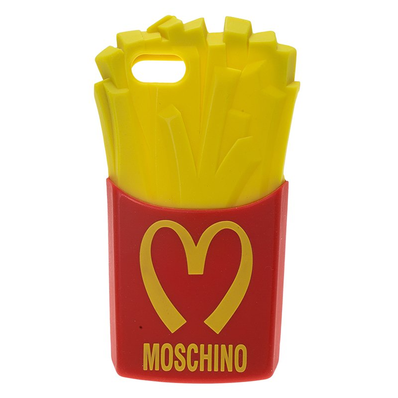 various colors 94ad5 c3484 Moschino French Fries iPhone 5 Case