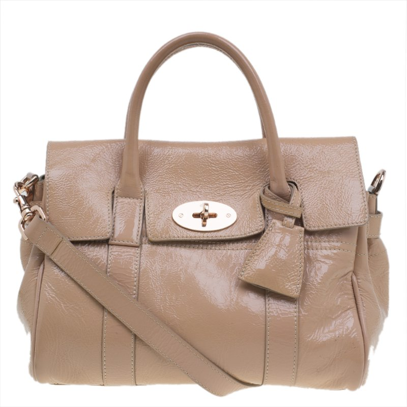 d5fe6c2655cd Buy Mulberry Blush Pink Wrinkled Patent Leather Small Bayswater ...