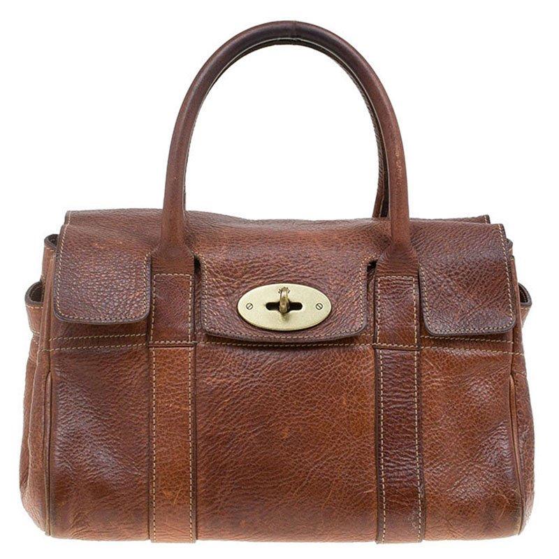 53163dd024 ... Mulberry Brown Leather Small Bayswater Satchel. nextprev. prevnext
