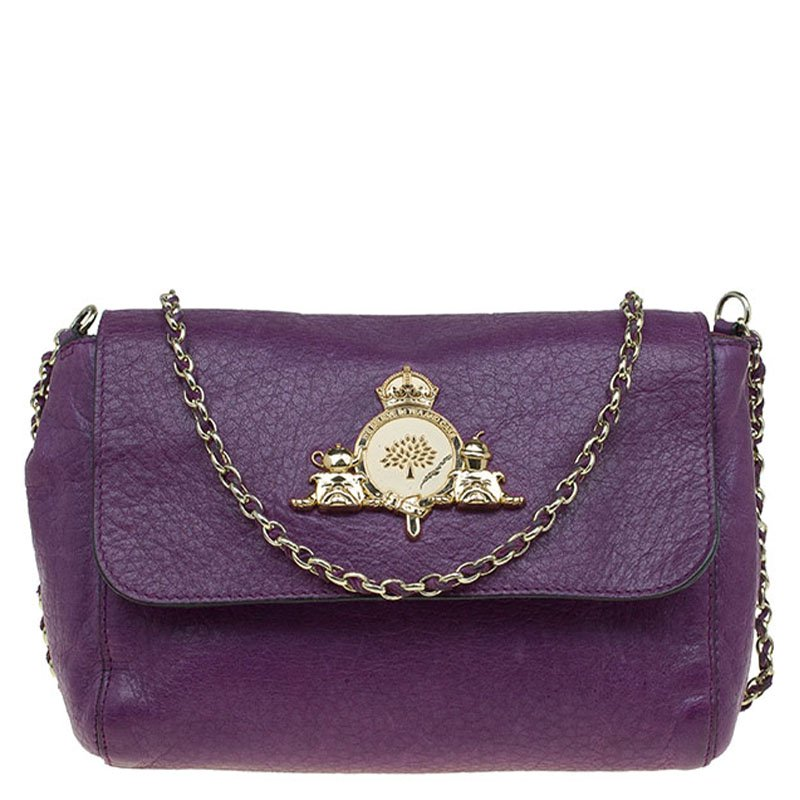 ... Mulberry Purple Leather Small Margaret Crossbody Bag. nextprev. prevnext 62bf7dc61d23e