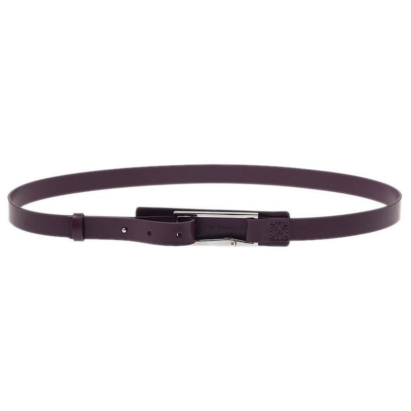 Porsche Design Purple Skinny Belt 85CM
