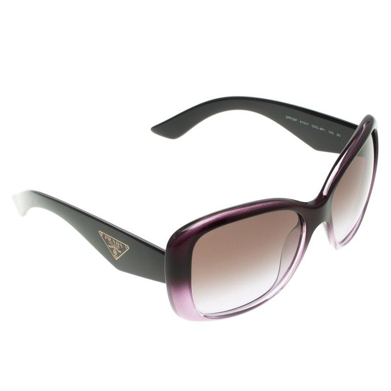 54df4d19c9d Buy Prada Purple SPR32P Oversized Sunglasses 110293 at best price