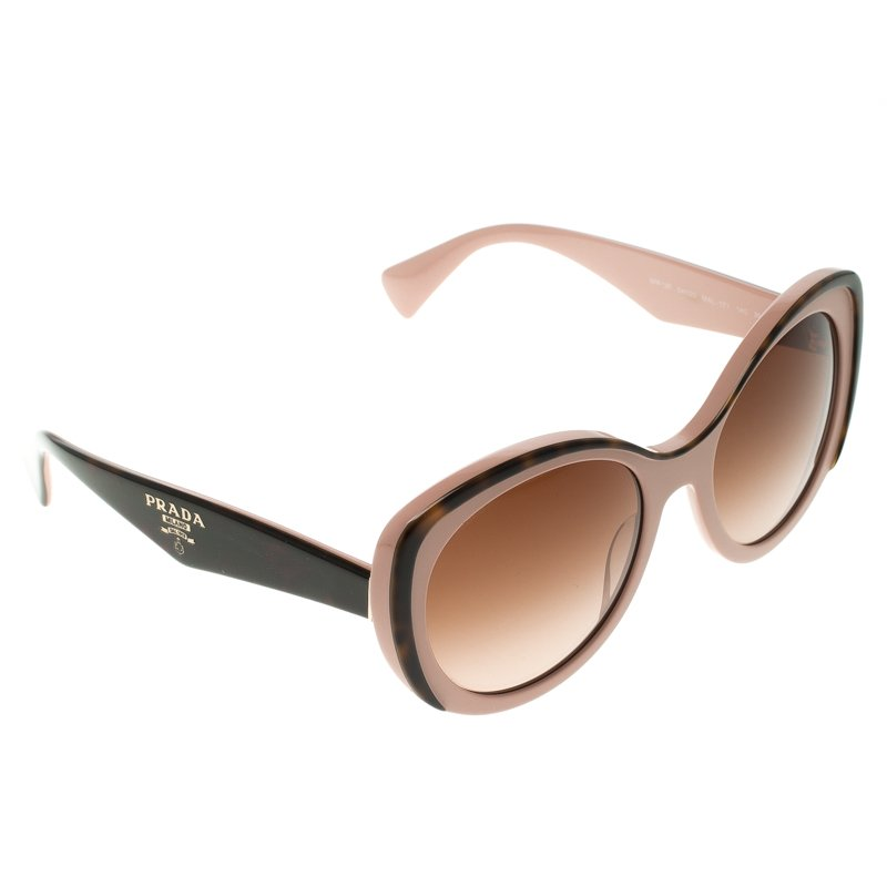 ced55719710a Buy Prada Pink and Black SPR 12P Cat Eye Sunglasses 111327 at best ...