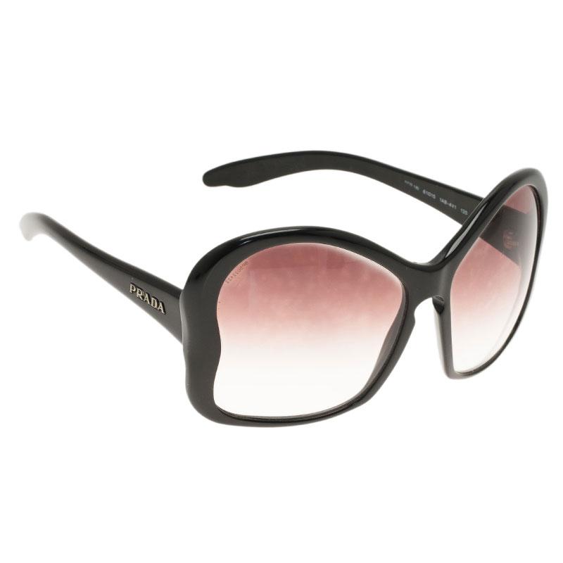 9e70fc96380 ... Prada Black SPR 18L Butterfly Frame Sunglasses. nextprev. prevnext