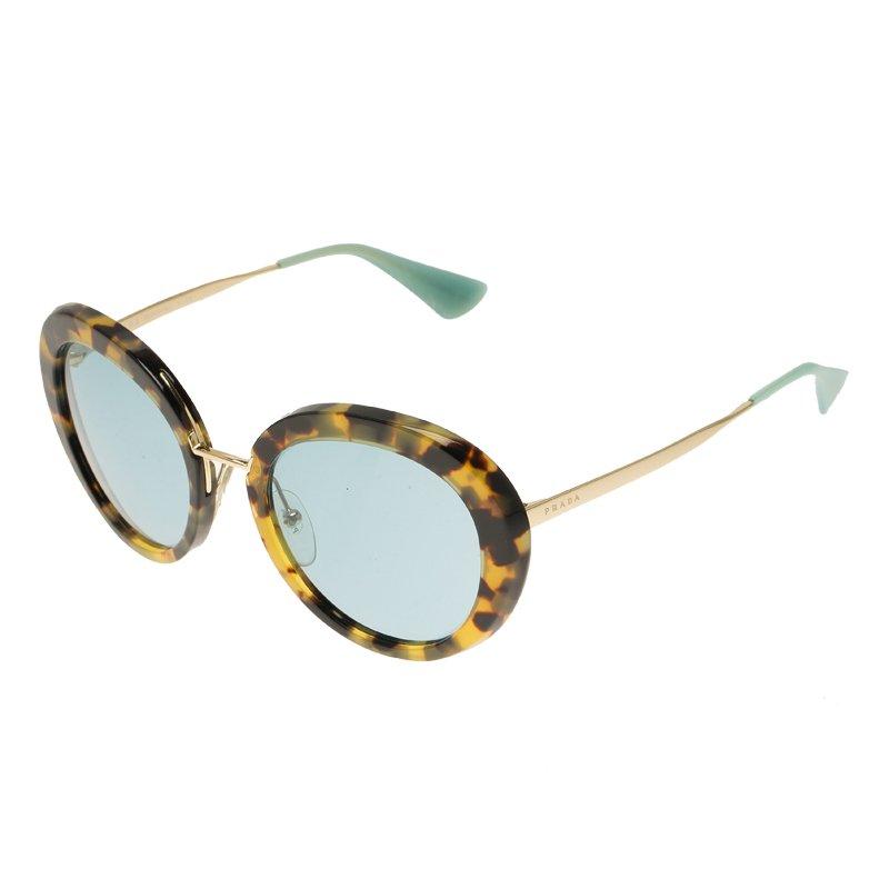 f33f269b9 Buy Prada Leopard Frame SPR16Q Round Sunglasses 59204 at best price ...