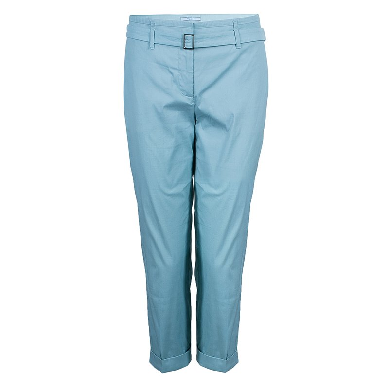 Prada Blue Casual Trousers M