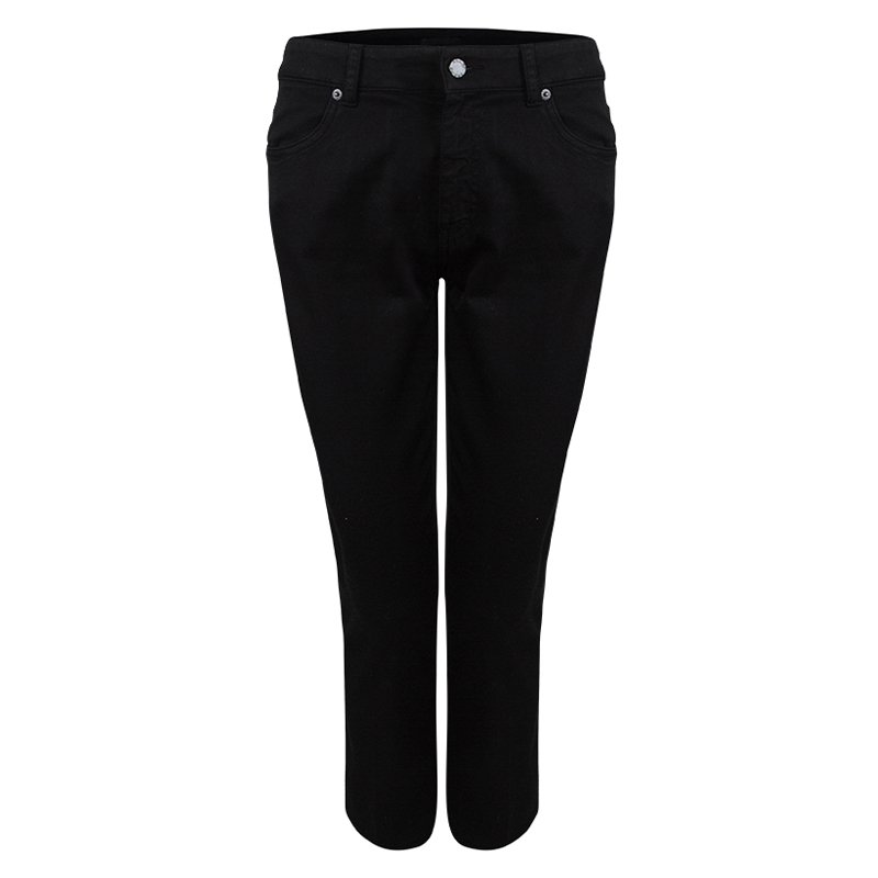 5009135750 Prada Black Denim Straight Fit Jeans M