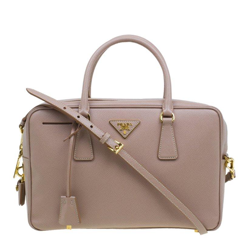 86f22e1eb25304 ... Prada Cammeo Saffiano Lux Leather Top Handle Bauletto Bag. nextprev.  prevnext