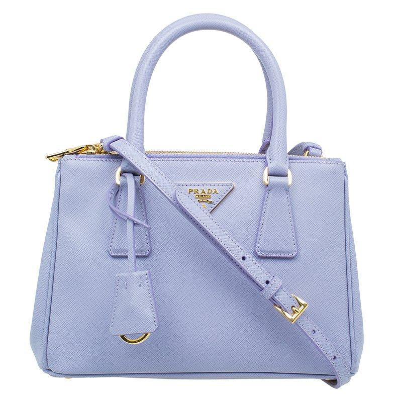 e4c89f925374 ... Prada Glicine Saffiano Leather Baby Executive Shoulder Tote Bag.  nextprev. prevnext