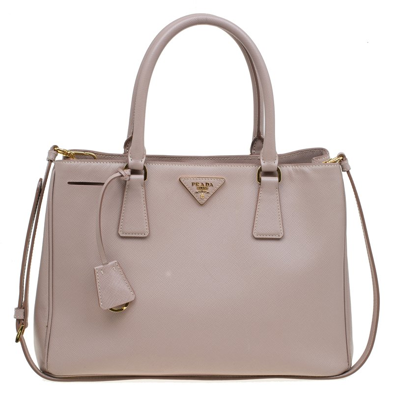 a6110e6e521c ... Prada Blush Pink Saffiano Lux Leather Small Tote. nextprev. prevnext