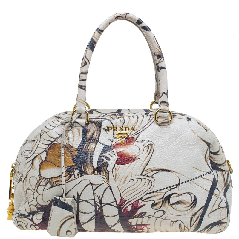 52413703a427 Buy Prada Beige Astro Cervo Lux Leather Limited Edition Fairy Print ...