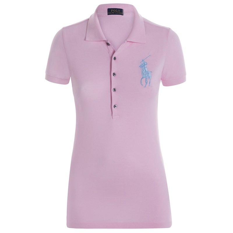 3dda1de40 ... Polo Ralph Lauren Pink Blue Logo Polo Shirt L. nextprev. prevnext