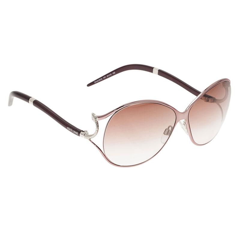 Roberto Cavalli Purple Zinnia Sunglasses