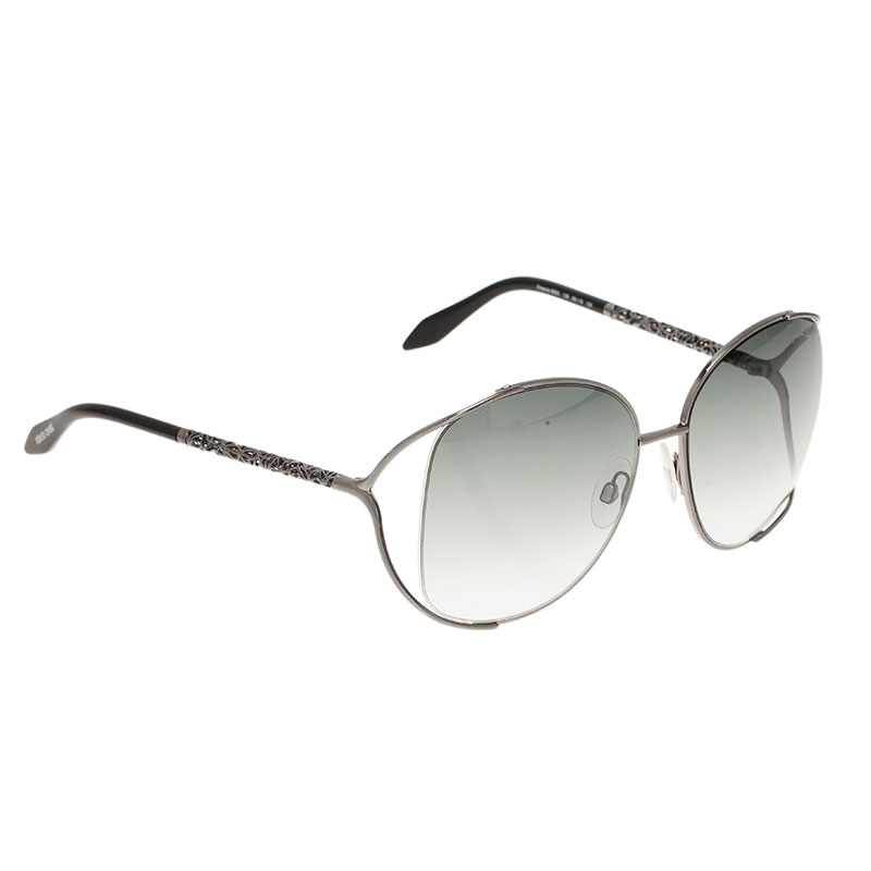 6e3696779d4 Buy Roberto Cavalli Silver Girasole Sunglasses 420 at best price