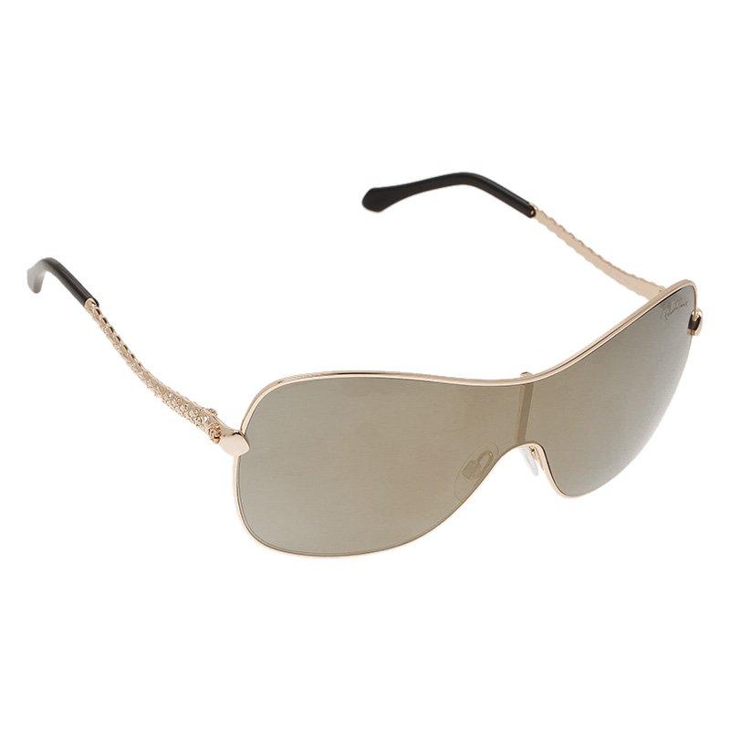Roberto Cavalli Gold Agena Sunglasses