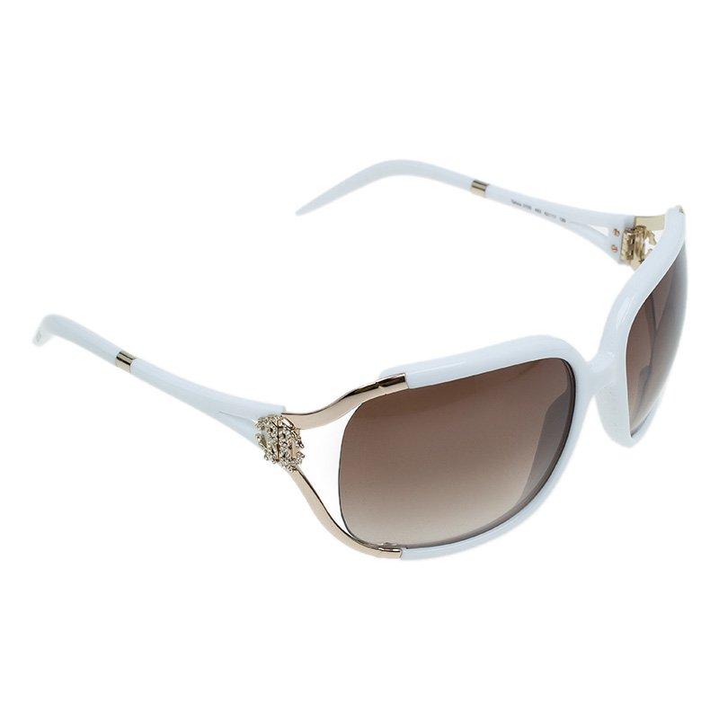 Roberto Cavalli White Talisia Sunglasses