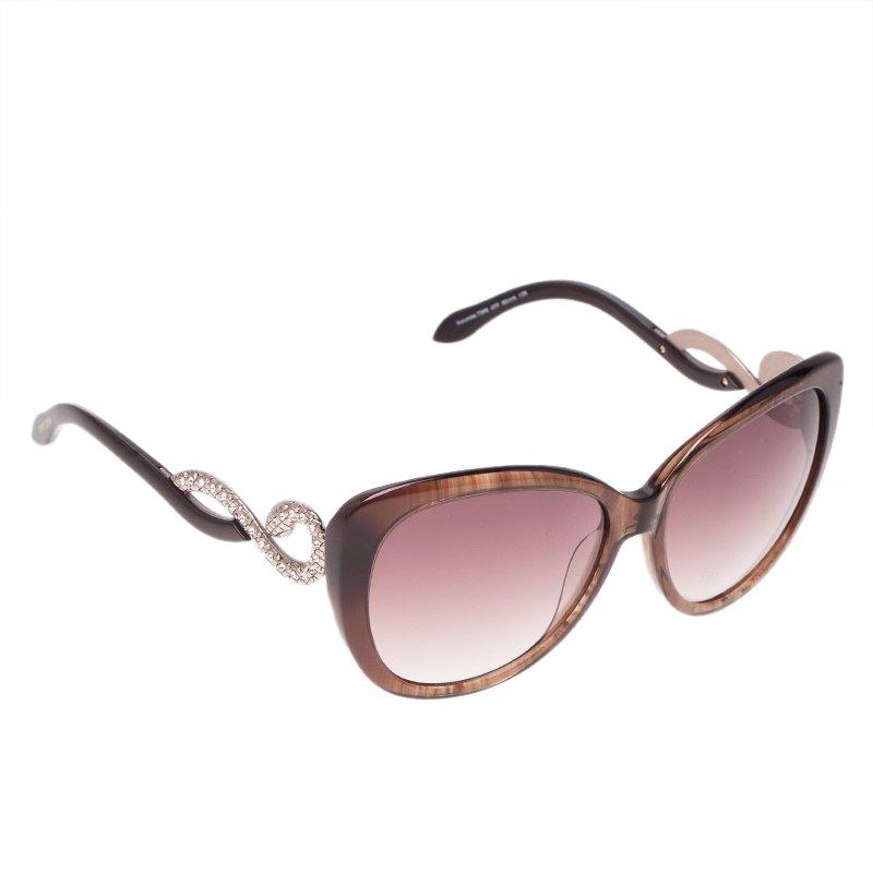 Roberto Cavalli Brown Kurumba Sunglasses
