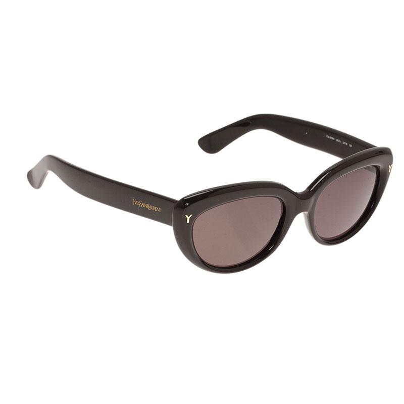 Saint Laurent Paris Brown 6319 Cat Eye Sunglasses