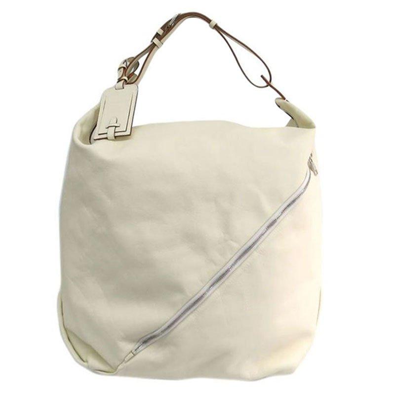 98253fd4a9a4d ... Salvatore Ferragamo OFF White Leather Shoulder Bag. nextprev. prevnext