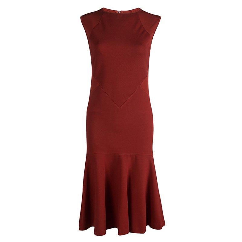72d715b7680e6 ... Stella Mccartney Red Knit Paneled Sleeveless Dress M. nextprev. prevnext
