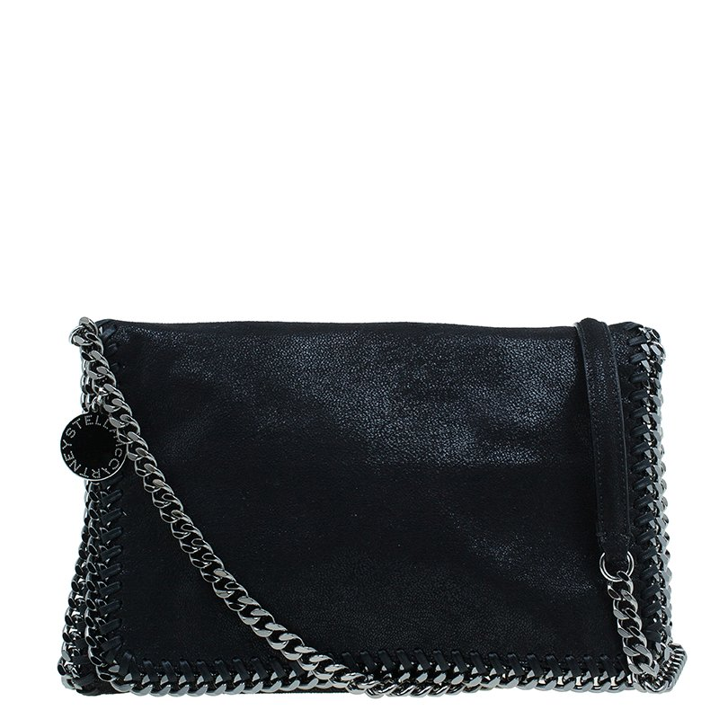 b869f0e8b8 ... Stella McCartney Black Falabella Shaggy Deer Messenger Bag. nextprev.  prevnext