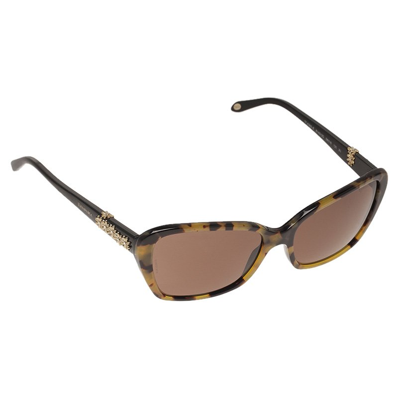e4d68e99d6a Buy Tiffany   Co. Tortoise Shell 4069B Sunglasses 47063 at best ...