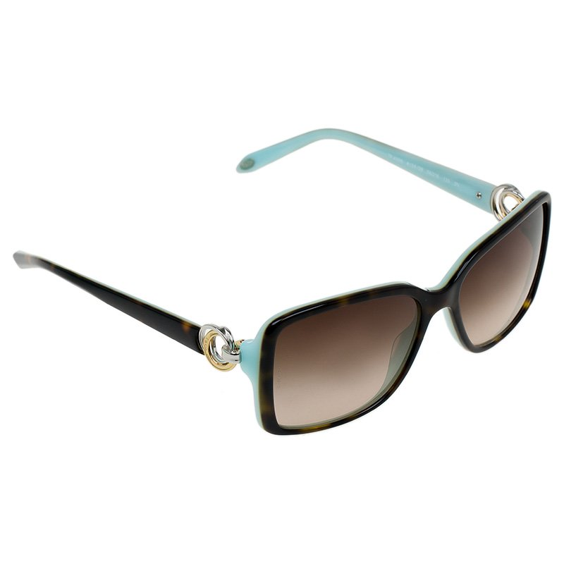 3e324db80f22 Buy Tiffany   Co. Brown and Blue 4066 Sunglasses 51430 at best price ...