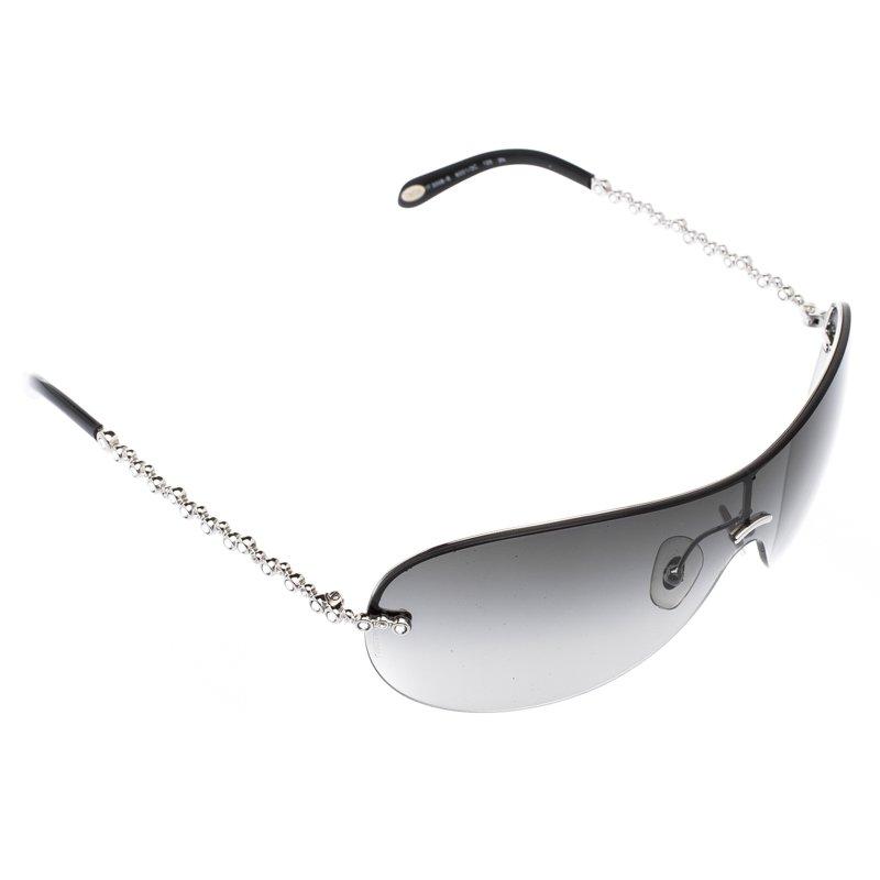 ccf50ef03c4c Buy Tiffany   Co. Black TF3008-B Shield Sunglasses 101093 at best ...