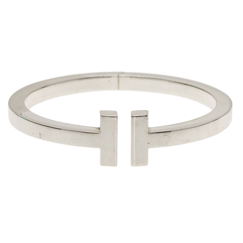 0a9eea0b0 Buy Tiffany & Co. Tiffany T Square Silver Bracelet 38917 at best ...