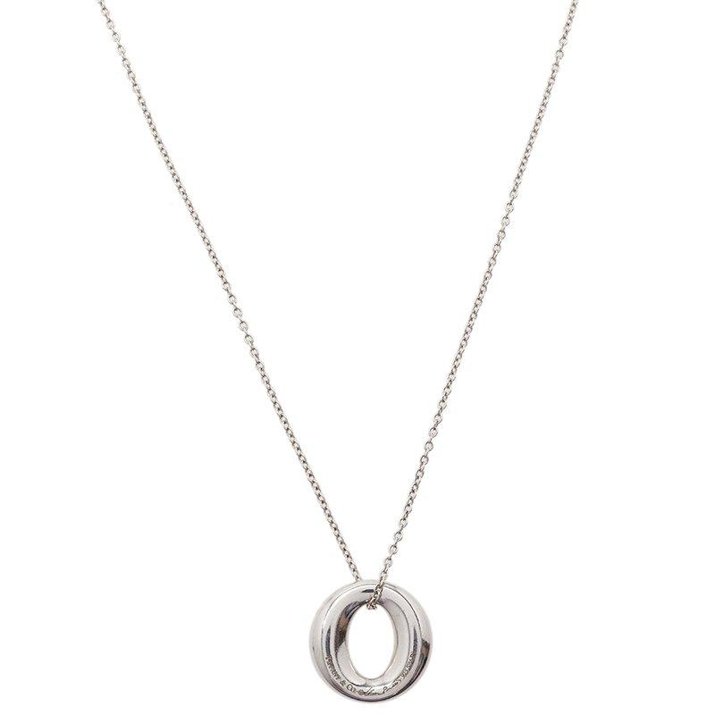 c92165531 Buy Tiffany & Co. Elsa Peretti Sevillana Silver Pendant Necklace ...