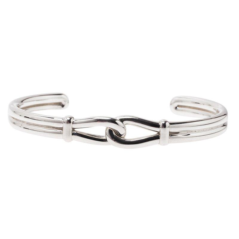 Tiffany & Co. Paloma Picasso Knot Silver Cuff Bracelet