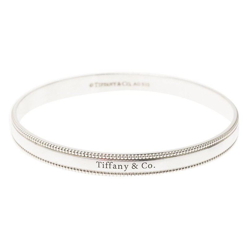 3976e624c Silver Bangle Bracelet; Tiffany & Co. Silver Bangle Bracelet. nextprev.  prevnext