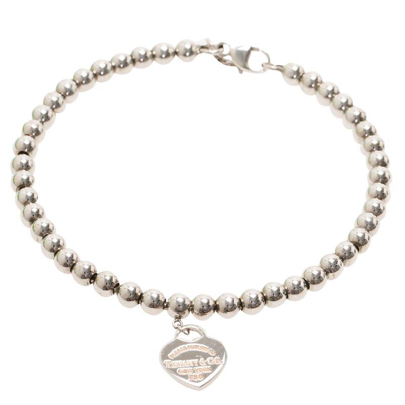 6b34a6ec7 Buy Tiffany & Co. Return to Tiffany Beads Silver Bracelet 57894 at ...