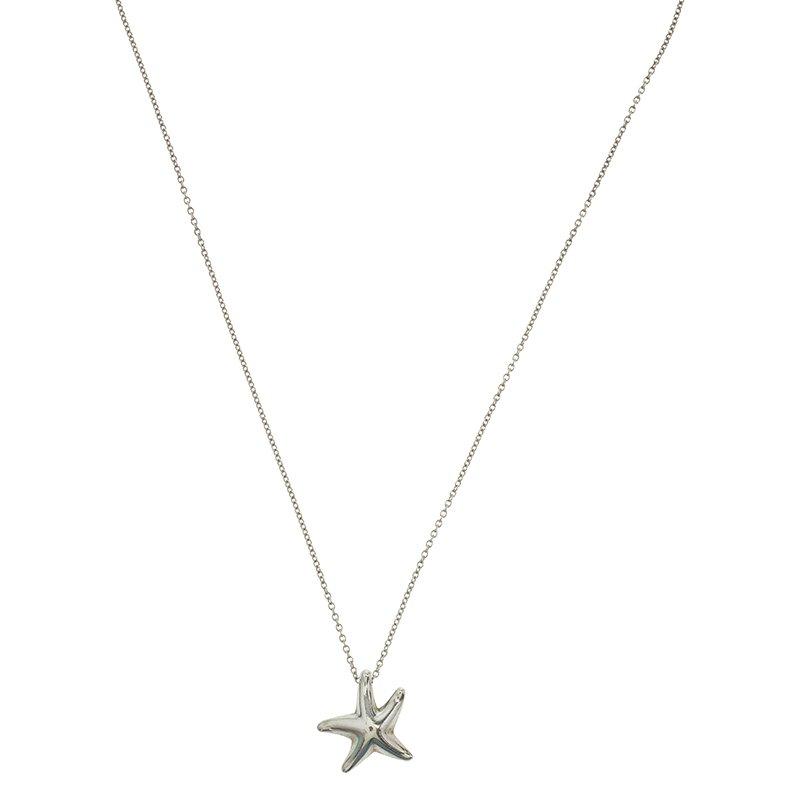 649e69f31 Buy Tiffany & Co. Elsa Peretti Starfish Silver Pendant Necklace ...