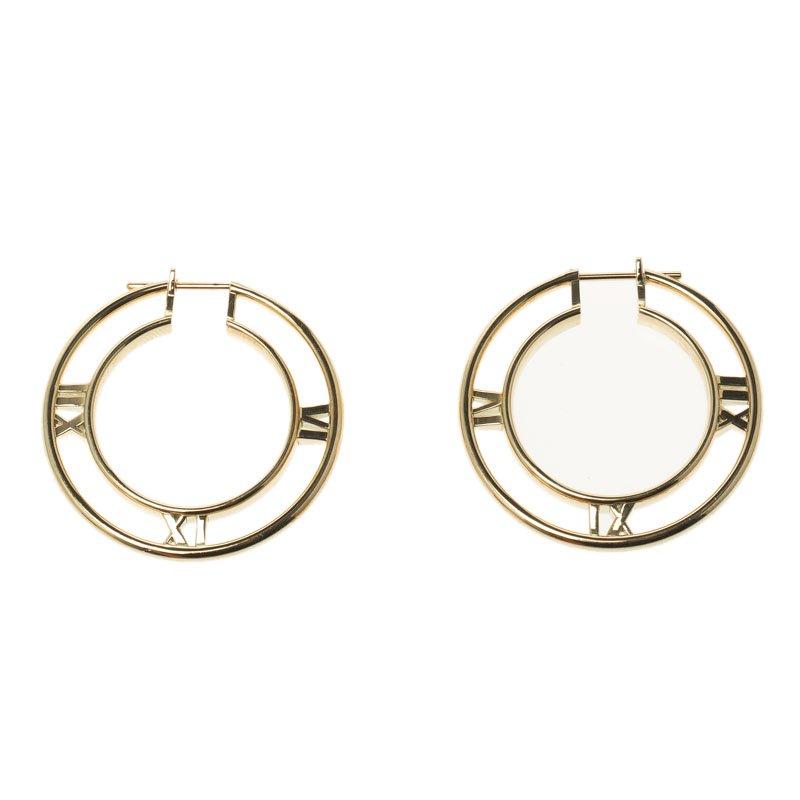 52b83c050 Tiffany Atlas Hoop Earrings - Best All Earring Photos Kamilmaciol.Com