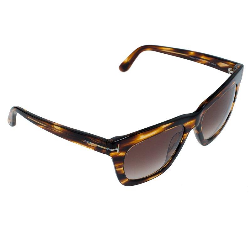 7b7f7be2c9e0 Buy Tom Ford Tortoise Frame Celina Sunglasses 59063 at best price