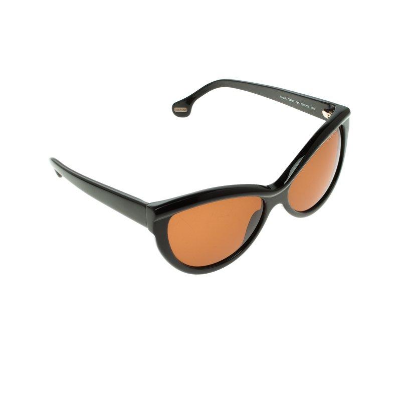 c9015f03b80 Buy Tom Ford Brown TF57 B5 Anouk Cat Eye Woman Sunglasses 110754 at ...