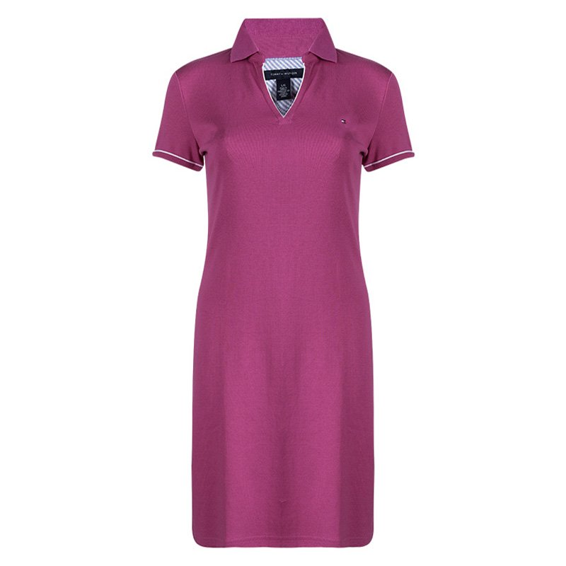 tommy hilfiger dress pink
