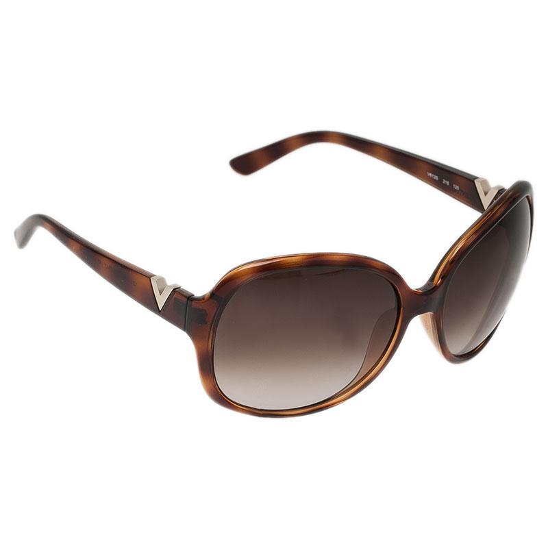 نظارة فالنتينو V612S بني مستديرة