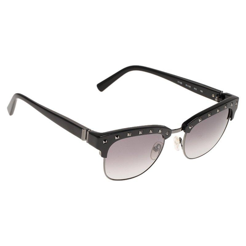 Valentino Black V112S Rockstud Sunglasses