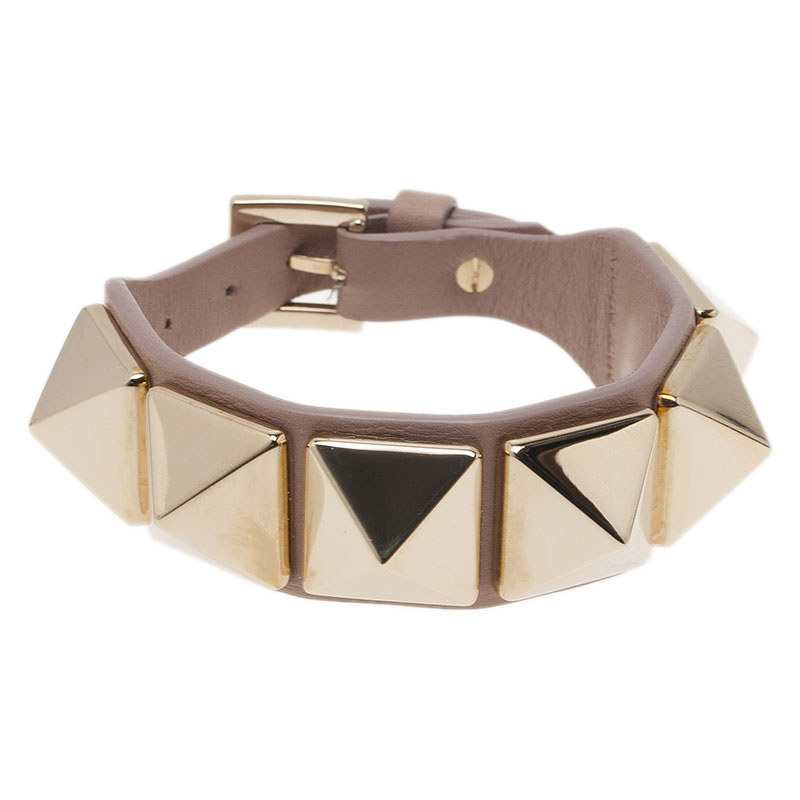 40e6ec4715 ... valentino rockstud macro stud leather bracelet nextprev prevnext ...