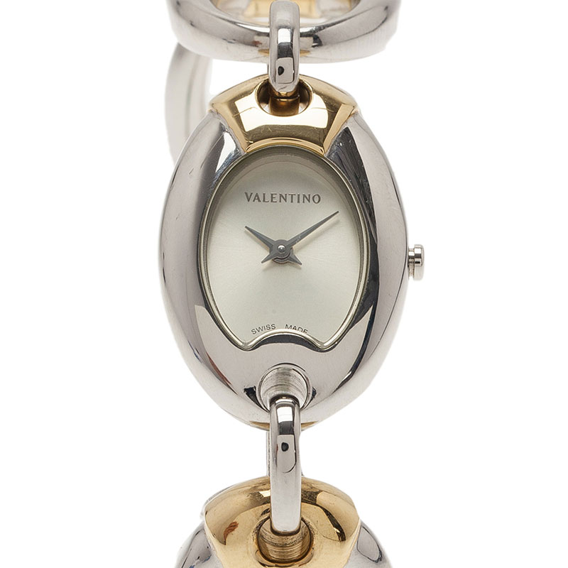 Valentino Classic Quartz Gold Plated Stainless Steel Womens Watch 21 MM