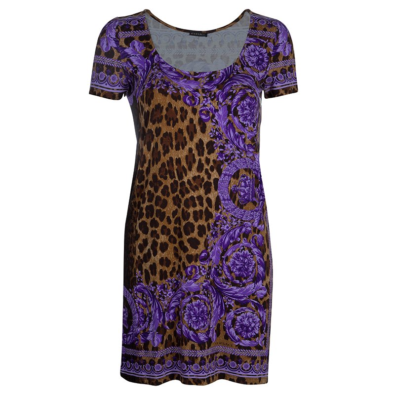 Buy Versace Leopard Print Tunic Top S 54201 at best price  69e0964e4