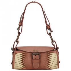 ad6d3112f9 Mulberry Bicolor Leather Shoulder Bag