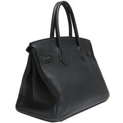 4bea9f3aa909 Buy Hermes Noir Togo Leather Palladium Hardware Birkin 30 Bag 164976 ...