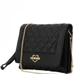 271d90bdc37a Buy Love Moschino Green Quilted Faux Leather Chain Crossbody Bag ...