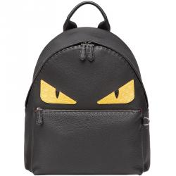 e7332532a9ce Buy Fendi Multicolor Roman Leather Bag Bugs Backpack 160352 at best ...