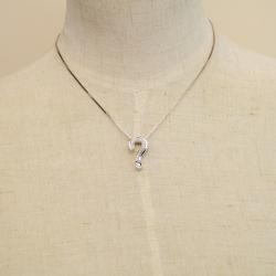 Alfieri st john fine jewelry alfieri st john lc alfieri st john question mark pendant diamonds gold necklace aloadofball Image collections